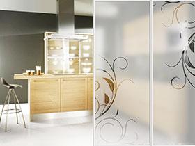 实用与美观并举 12张厨房玻璃隔断效果图