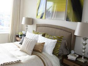 要清新也要舒适 13款清新床头软包设计