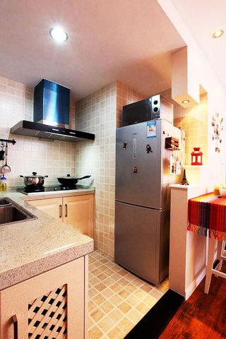小户型厨房装修效果图大全2014图片