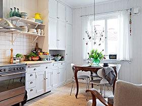 15张小户型厨房设计效果图 教你装修厨房