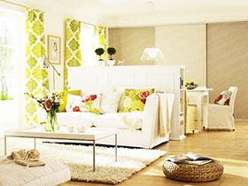 客厅隔断柜效果图 15图装扮实用空间
