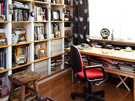 小户型书房收纳 20图还原整洁书房