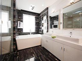 现代简约风浴室柜图片欣赏 简洁不失大气