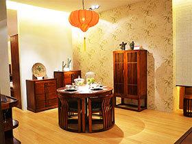 13张新中式餐桌效果图 古典大气