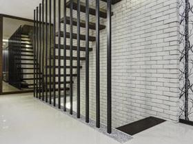 楼梯也有装饰效果 12款清新楼梯图片