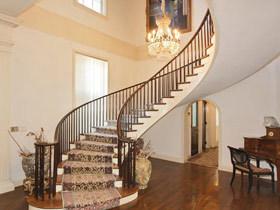 唯美旋转楼梯 14款旋转楼梯设计图