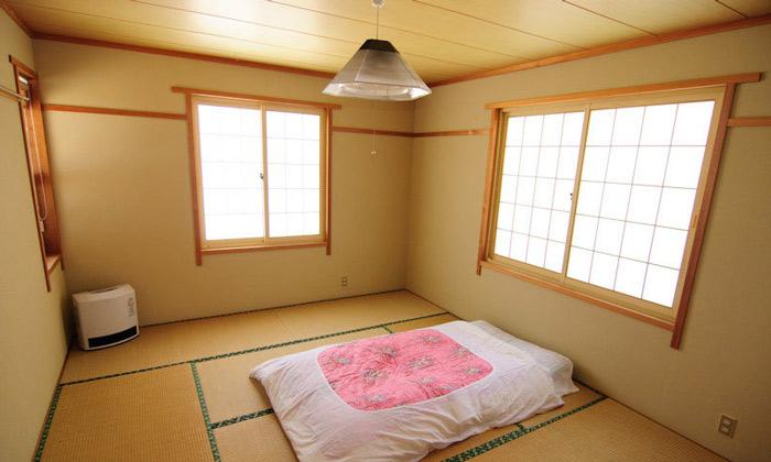 日式卧室榻榻米床效果图