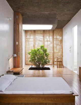 原木榻榻米床设计图