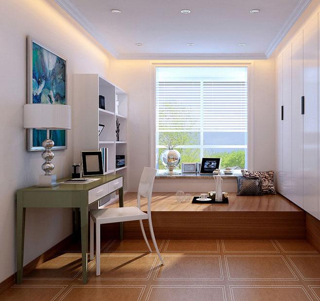 书房榻榻米床设计图