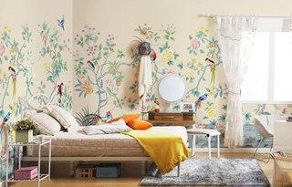 卧室手绘效果图大全2014图片
