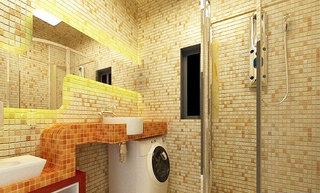 卫生间瓷砖效果图2014