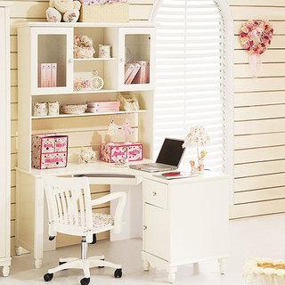 书柜书桌效果图