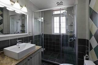 干湿分离卫生间设计效果图