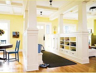 客厅隔断柜装修效果图