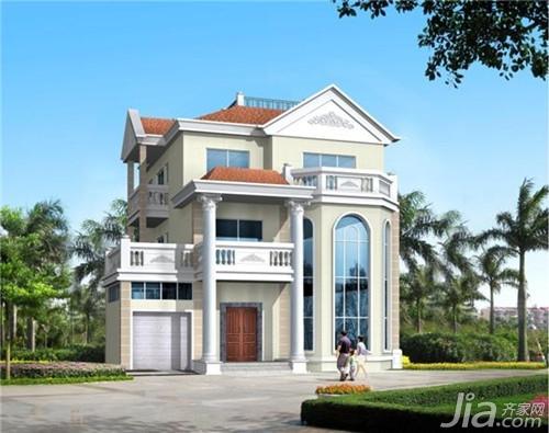 装修很讲求房子的整体的外观美,各栋小三层别墅又形成独立的个体,外观图片