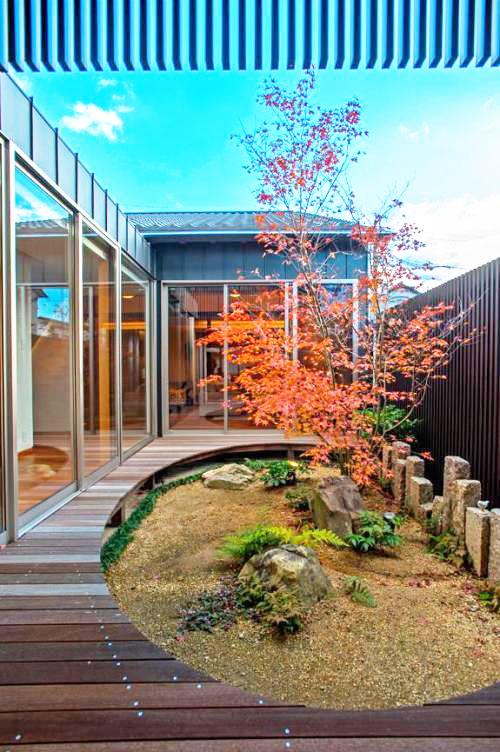 庭院景观效果图-园林景观|私家花园景观效果图|庭院景观平面图|庭院图片