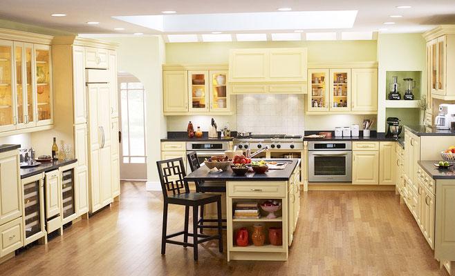 厨房吊顶设计图_齐家网装修效果图