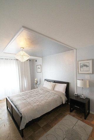 欧式卧室吊顶装修效果图大全2013图片