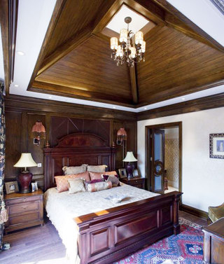 方形卧室吊顶效果图
