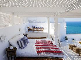 浪漫海洋气息 15张地中海卧室吊顶效果图