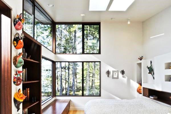 简洁卧室吊顶效果图
