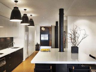 现代简约风格厨房灯具装修效果图大全2014图片