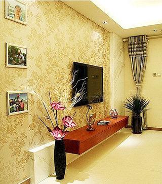 电视墙壁纸装修