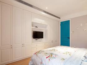 简约风嵌入式整体衣柜设计 充分利用空间