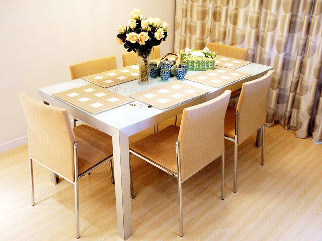 实木餐桌设计图_齐家网装修效果图