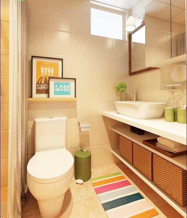 宜家浴室柜效果图