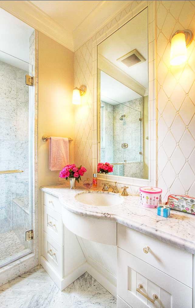 卫生间浴室柜装修效果图大全2014图片