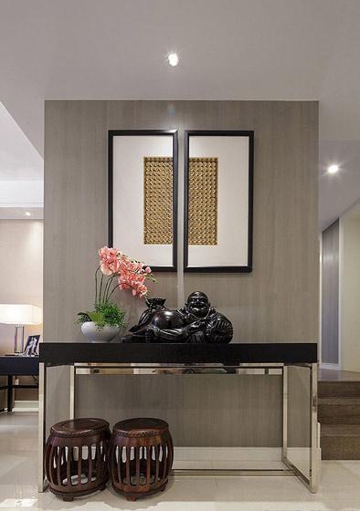 新中式玄关柜图片高清图片