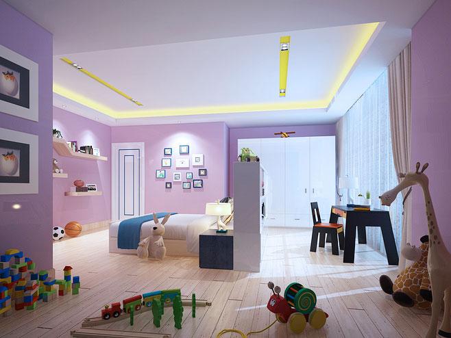 儿童房吊顶装修效果图大全2013图片