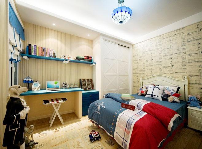 白色儿童房吊顶效果图-装修效果图案例 2017年装修效果图 齐家网装修