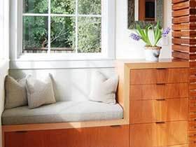 16张实木飘窗效果图 清新自然