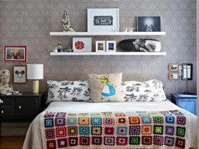 背景墙也能收纳 19款卧室背景墙效果图