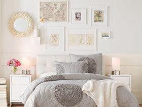 唯美照片墙 15款卧室背景墙图片