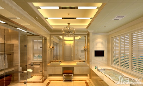 厨房卫生间装修吊顶效果图图片