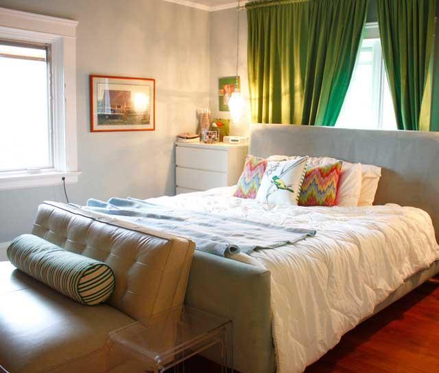 混搭简单卧室设计效果图