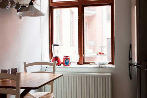 长方形小厨房采光设计效果图高清图片