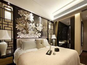 雅致舒适设计 15款中式床头软包图片