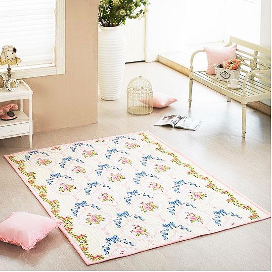 田园风格地毯效果图