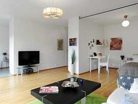 6萬裝40平清新個性公寓設計案例