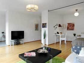 环保简约北欧风公寓装修 最好的家给最爱的人