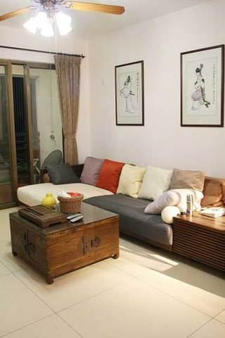 现代布艺软沙发设计图片
