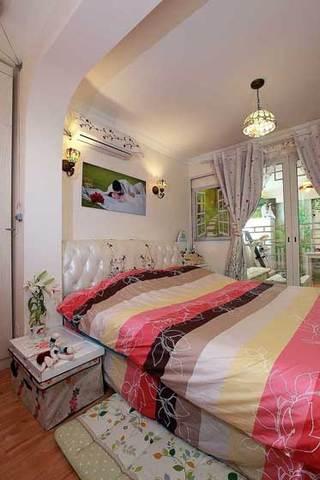 田园风格5-10万60平米婚房家装图片