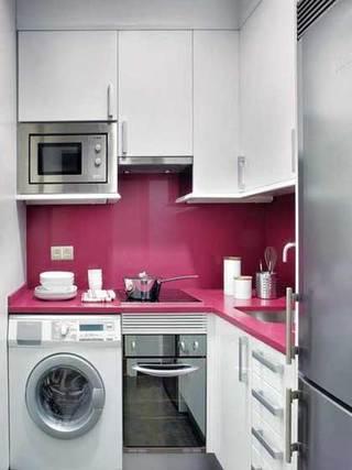 收纳型设计厨房效果图