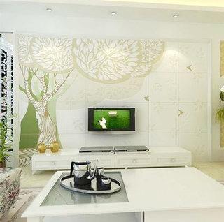 瓷砖背景墙设计效果图