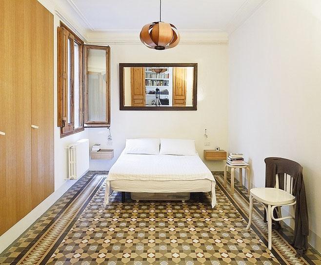 卧室瓷砖效果图