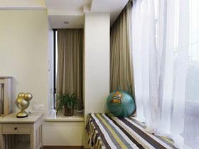 给卧室增加浪漫 14款卧室转角飘窗图片